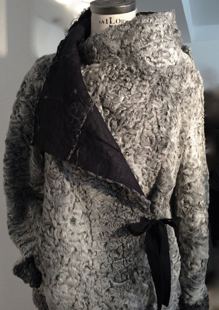 NEWyesetrday - reworked fur fashion, jacket - reversible, one of a kind