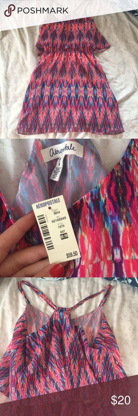 Chevron printed dress! Super cute. With tags. Aeropostale Dresses Mini