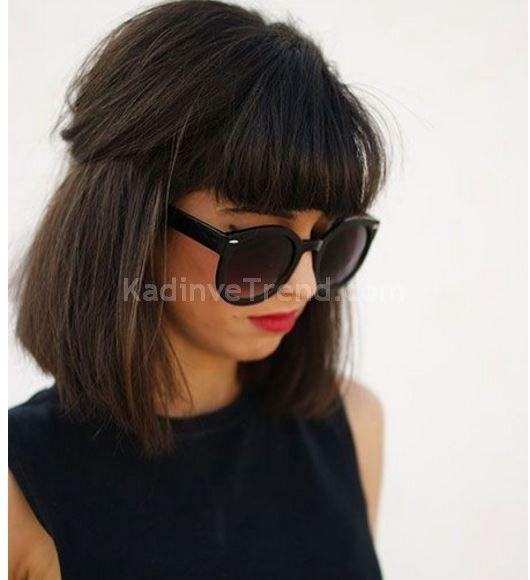 kahküllü bob saç modelleri 2016