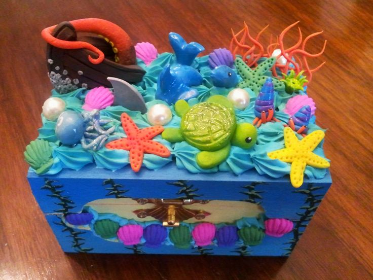 Ocean Deco Box by BloodTypeBPositive.deviantart.com on @deviantART