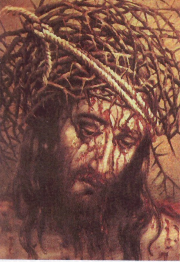 La vera forma della corona di spine. Ritratto di Mons. Giulio Ricci.