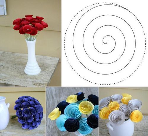 DIY Paper Flower Bouquet DIY Projects / UsefulDIY.com on imgfave