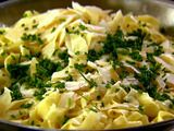 Ina's Tagliarelle with Truffle Butter- this dish will most definitely be on my Thanksgiving table, although a hefty price to pay for truffle butter it is the most delicious pasta I have ever tasted! Totally worth every penny!
