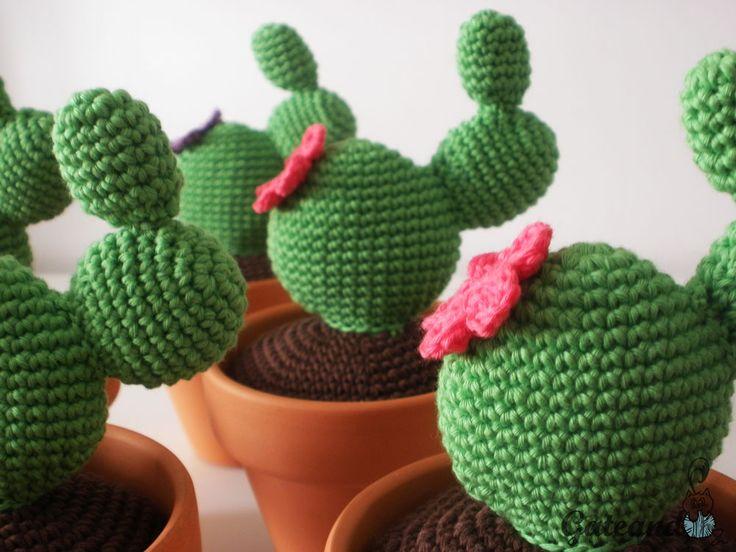 Amigurumi Cactus Tejido A Crochet Regalo Original : Best cactus y suculentas images prickly pear