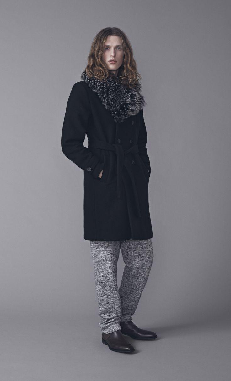 Samson Coat and Coen Trousers | Samuji Man FW15 Collection