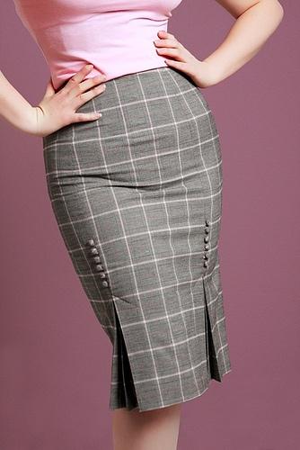 Perfect skirt detail.