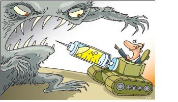 If new antibiotics would not be developed, superbugs can be dangerous as biological weapons