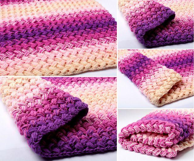 Crochet Baby Zig Zag Blanket - Free Pattern