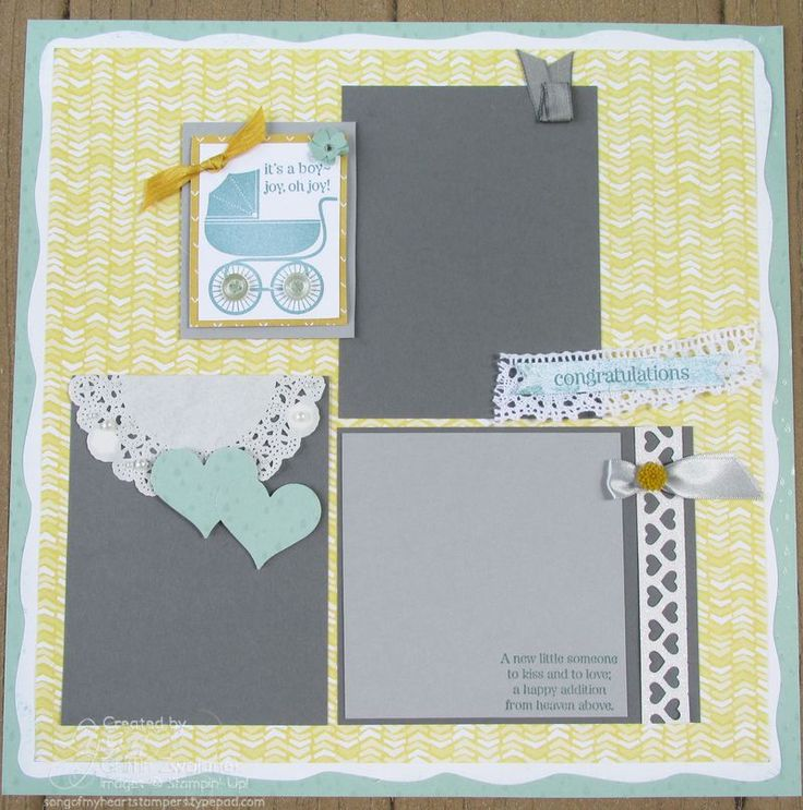 Charming Baby Shower Scrapbook Pages Part - 8: Baby Shower Page SOMHS