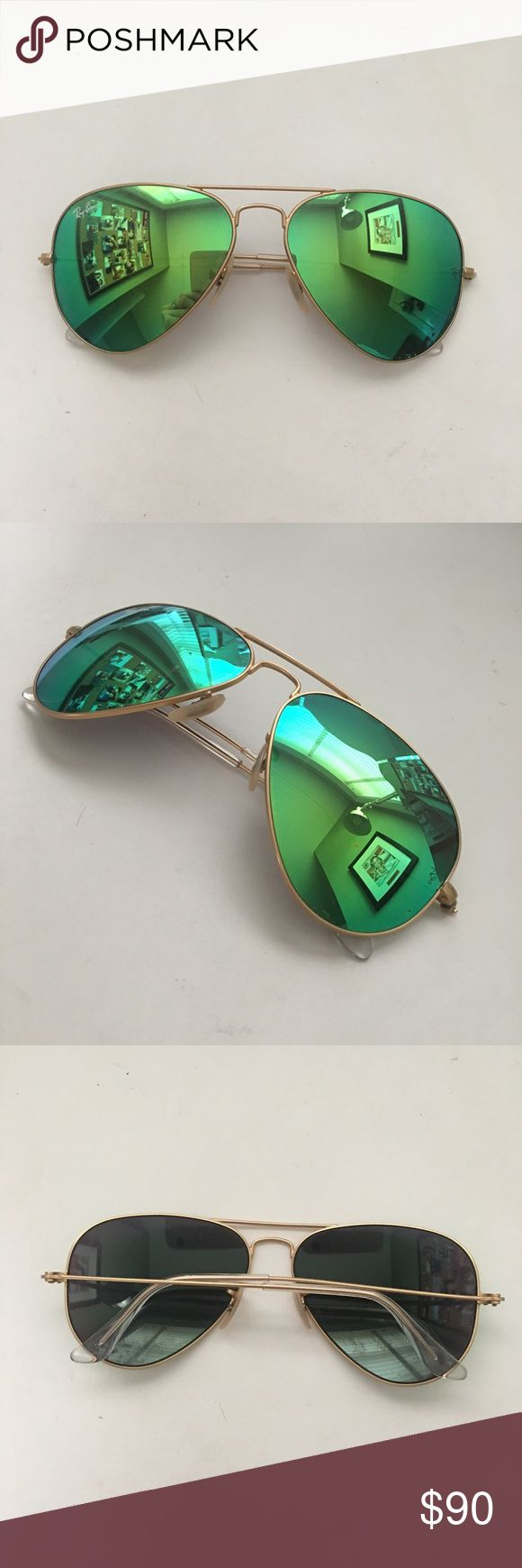 ray ban flash lenses review  17 best ideas about Ray Ban Aviator Gold on Pinterest