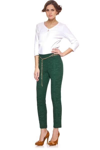 C сочетать темно зеленые брюки