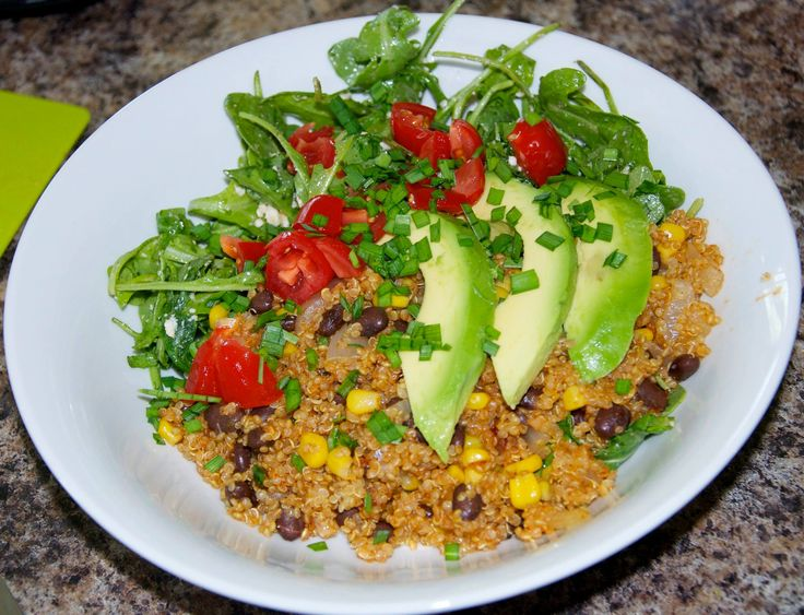 Quinoa Arugula Power Bowl Recipe@ https://www.facebook.com/myawesomefoods/photos/a.585424158212069.1073741830.585066831581135/665544306866720/?type=1&theater