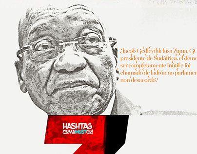 "Check out new work on my @Behance portfolio: ""#ZumaMustGo!"" http://be.net/gallery/33769116/ZumaMustGo"