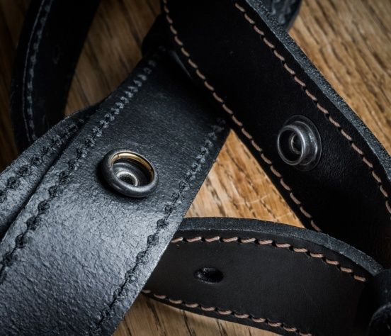 Strap comes apart so that you can use it as a single strap.
