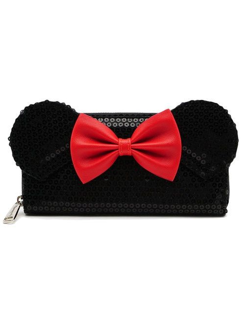 c9862aebbea Loungefly x Disney s Minnie Mouse Bow Sequin Wallet