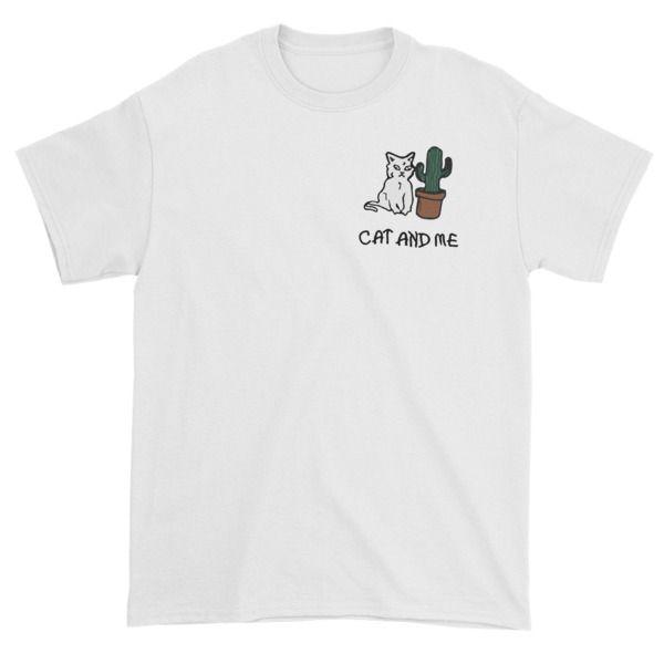 Cranky Cat Cactus Custom Tshirts