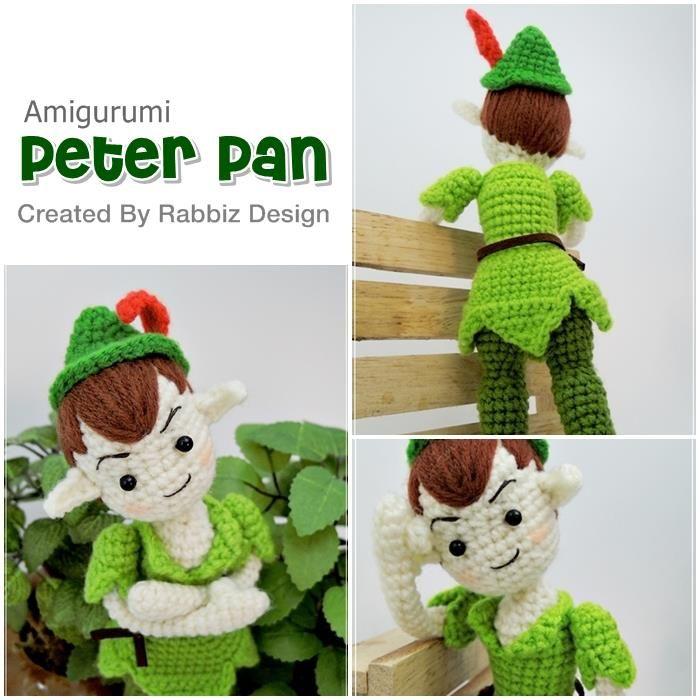 Peter Pan in crochet