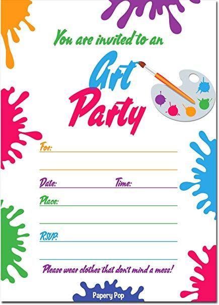 Dissertation party invitation