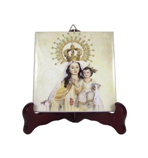 The Virgin of Mercy - catholic icon on ceramic tile - now available in my Etsy Store: >>> https://www.etsy.com/listing/546651802 <<<  100% handmade in Italy by @TerryTiles2014  #ourlady #virginmary #avemaria #ourladyofmercy #mercy #catholic #art #catholicism #faith #pray #prayforus #NuestraSeñora #etsyfinds
