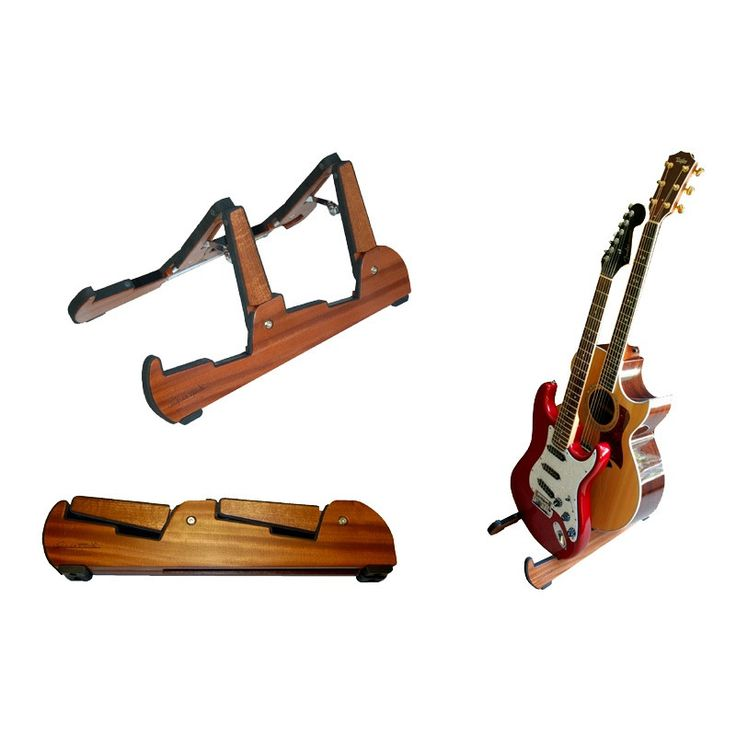 Cooperstand Pro Tandem Dual-Guitar Stand