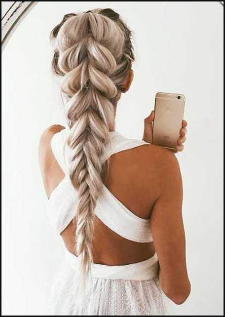 Die Besten 25 Einfache Frisuren Lange Haare Ideen Auf Pinterest Einfache Frisuren Hair Styles Long Hair Styles Prom Hairstyles For Long Hair