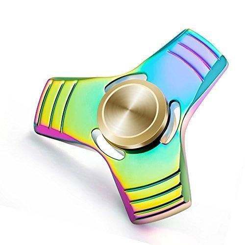 Suiez Anti-Anxiety Bearing Edc Triangle Hand Spinner Interscrew Finger Decompression Puzzle Toys (H09)