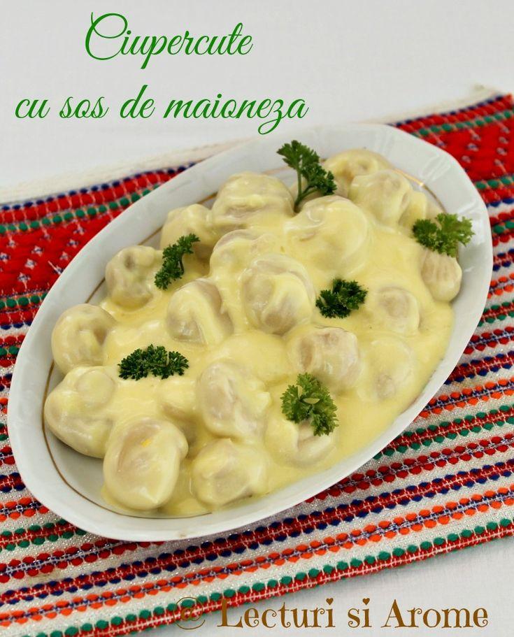 ciupercute cu sos de maioneza
