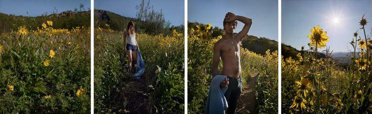 DAVID HILLIARD - Yellow Blue, 2012
