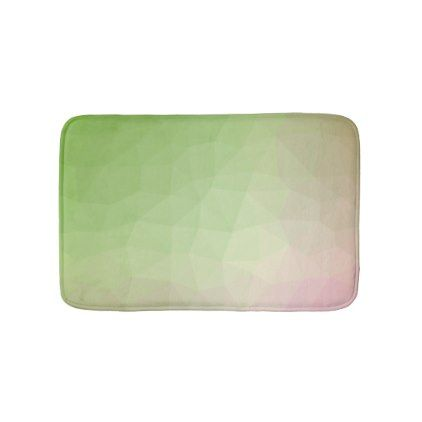 LoveGeo Abstract Geometric Design - Carnation Youn Bathroom Mat  $27.85  by LoveGeo  - cyo customize personalize diy idea