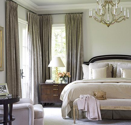 Where To Put Sheers When Hanging Curtains High And Wide
