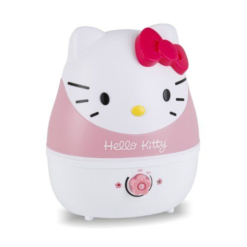 Cool or Warm Mist Humidifier? -  Adorable! Hello Kitty Cool Mist Humidifier check it out at bedtimebaby.com