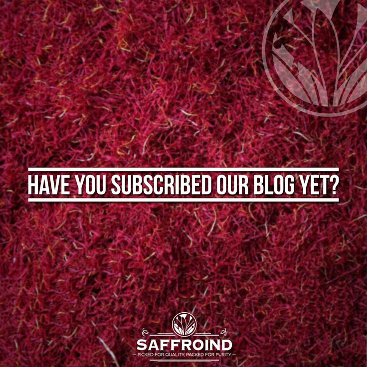 Saffroind brings you amazing saffron recipes which are easy to cook and delicious to eat. Have you subscribed our blog yet? Subscribe today – www.saffroind.com/blog/  #blog #blogging #foodblog #foodbloggers #recipeblog #spiceworld #spiceforlife #kesar #saffron #readon #instablogger #instablog #instagramblogger #bloglovin #followus #subscribe #sharerecipes #bestrecipe #homemade #greatrecipe #ordernow #online #onlinestore #bringhome #doorstepdelivery #cashondelivery