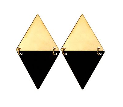Black Gold earrings