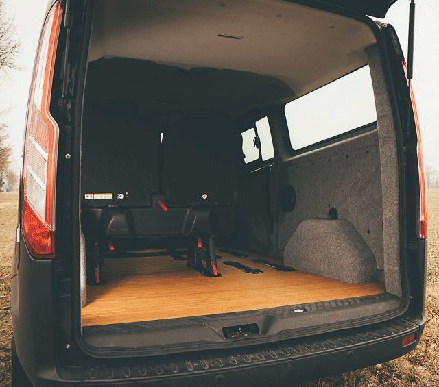 In Minuten vom Transporter zum Campingbus. MOVOVAN macht es möglich.