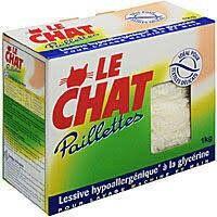 Meilleure note du test : Le Chat paillette au savon de Marseille