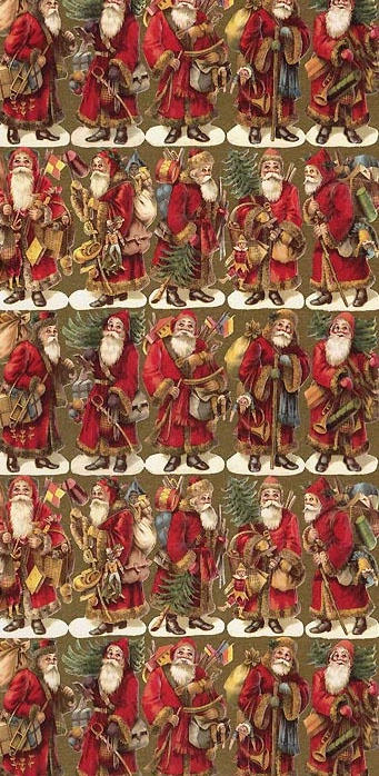 Specialty Christmas paper from Germany