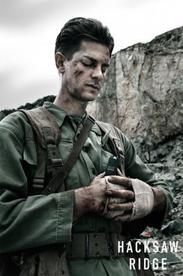 """""""While everyone else is going to be taking life, I'm going to be saving it."""" - Desmond Doss, #HacksawRidge"""