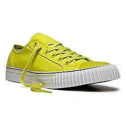 PF Flyers 11 Retro Sneaker (PM11CL3N) - Yellow with White
