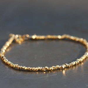 Bracelet vermeil by circus little mark October 5, made in France.