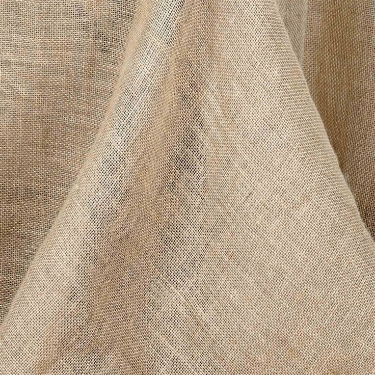 Burlap for table cloth.