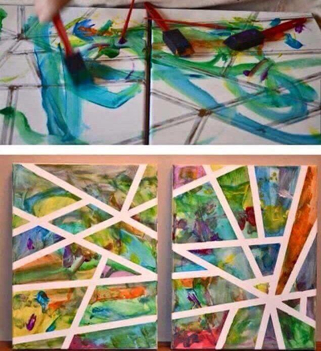 17 beste idee n over verf strepen op pinterest gestreept geschilderde muren gestreepte muren - Verf een ingang en een gang ...