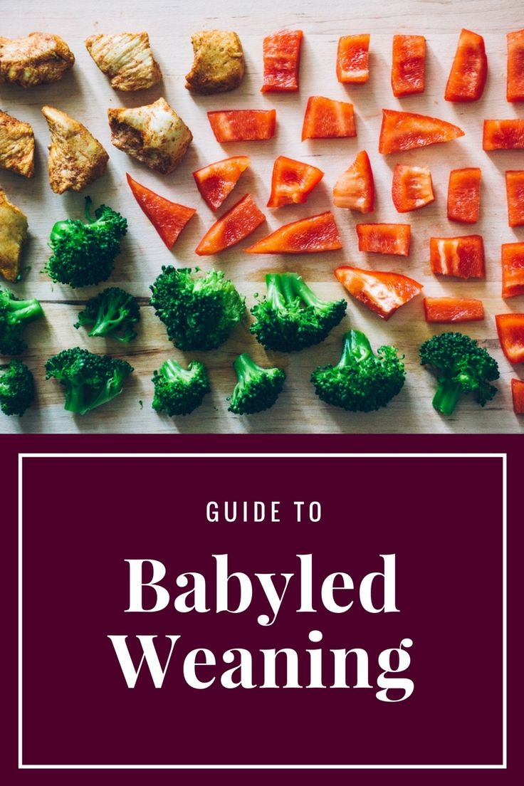 heavenly ingredients: Baby led weaning part 2
