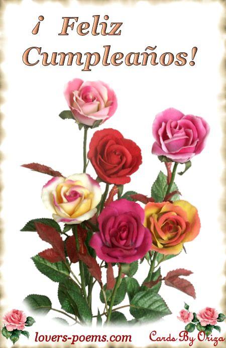 ¡Feliz Cumpleaños! - Feliz Cumpleaños imagen #7281 para Facebook, Twitter, Pinterest, Whatsapp & Google+.
