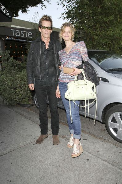 Kyra Sedgwick Photos: Kevin Bacon and Kyra Sedgwick at Taste Restaurant