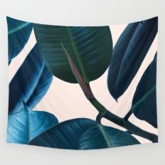 Ficus elastica 2 Wall Tapestry