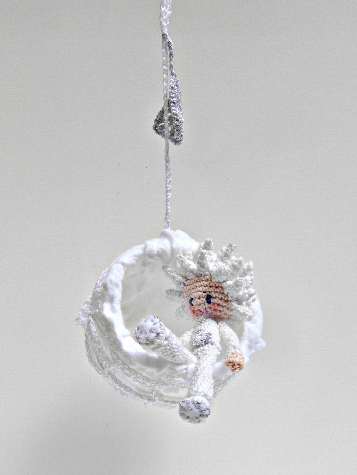 Crochet Doll Pattern - Lasse the Snowflake Boy, Amigurumi Doll with Crochet Ball by daniandbel on Etsy https://www.etsy.com/listing/187917135/crochet-doll-pattern-lasse-the-snowflake