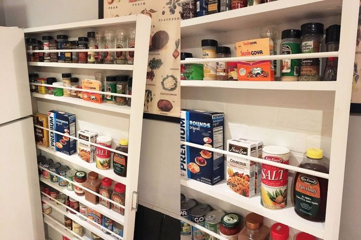 You'll rush to measure your fridge when you see her storage hack