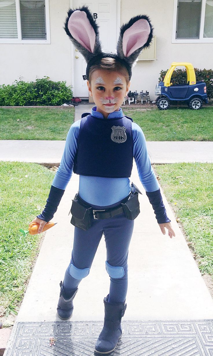 judy hopps costume zootopia size girls by justsewspecialshop - Ideas For Girl Halloween Costumes