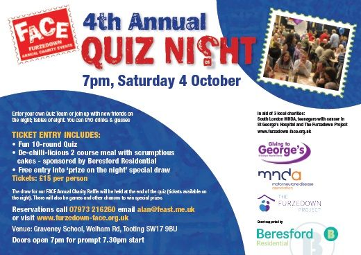 Supporting Furzedown Annual Charity Events - Estate Agents, UK