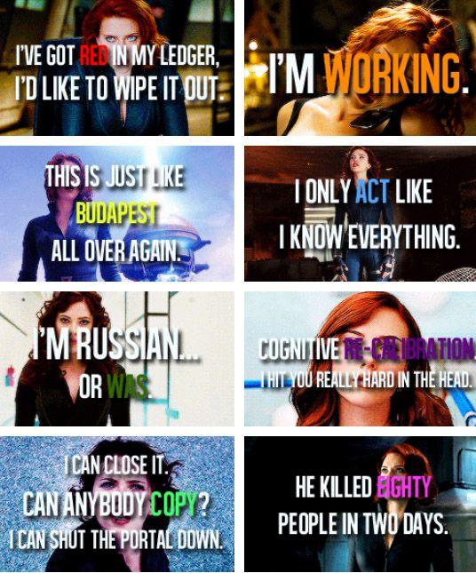 Natasha Romanoff quotes